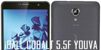 iBall Cobalt Youva Specifications