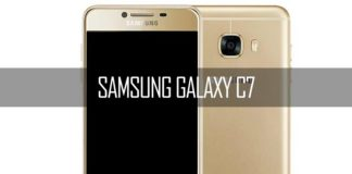 galaxy c7 by samsung
