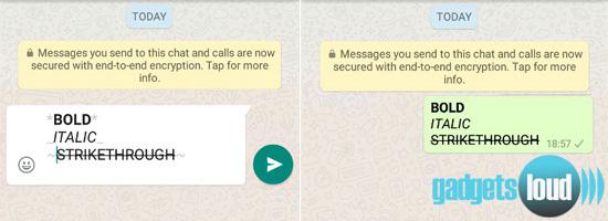whatsapp tricks to send amazing text