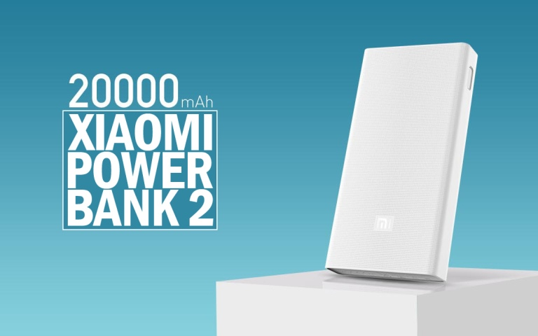Xiaomi MI 20000 mAh Power Bank 2