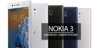 Nokia 3 full phone specifcations and features