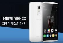 Lenovo Vibe X3 Specifications