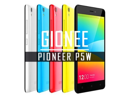 Gionee Pioneer P5W