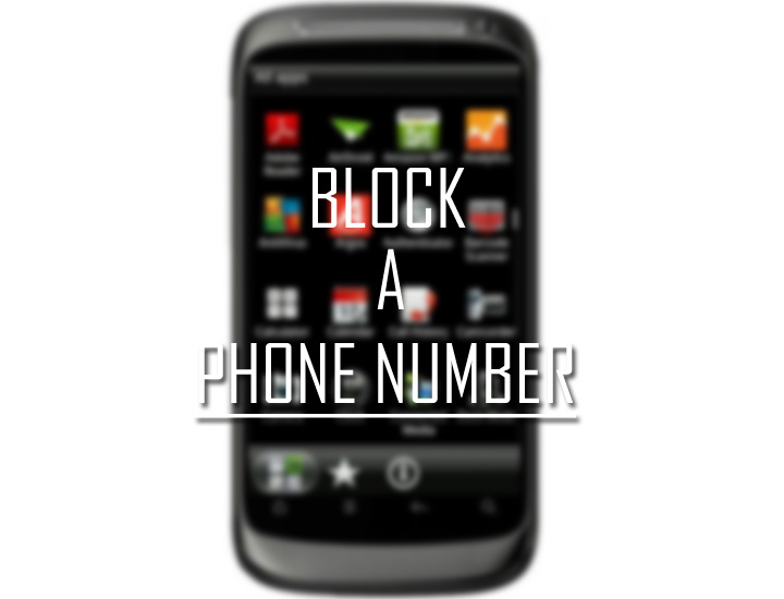 Block a Phone Number