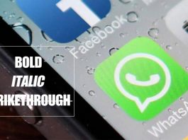 How to Send BOLD, ITALIC and STRIKETHROUGH Text on Whatsapp