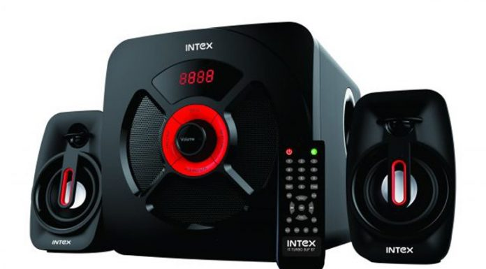 Intex IT Turbo SUF Bluetooth 2.1 Channel Affordable Speakers Specs and Price