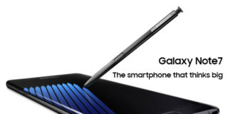 Samsung Galaxy Note 7 Specifications and Features (India and USA / UK) with Price