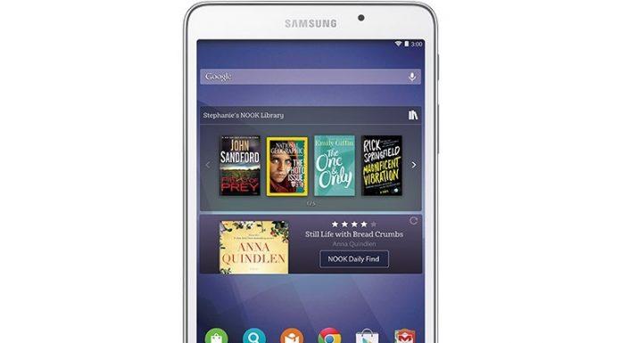 Samsung Galaxy Tab A Nook - The Next Generation Reader's Tablet Specs & Price