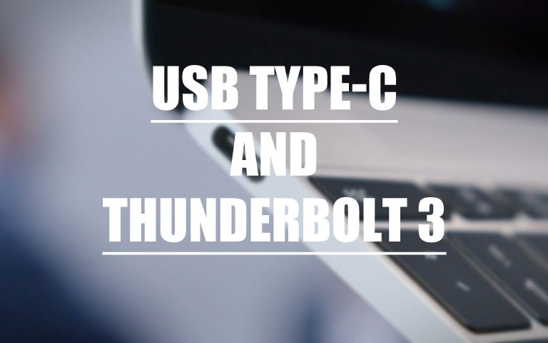 USB Type C and Thunderbolt 3 - What's The Difference