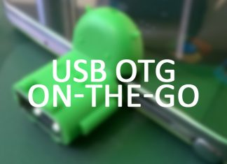USB OTG (On-The-Go) feature in Smartphones or Tablets
