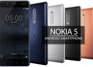 Nokia 5 full phone specifcations and features