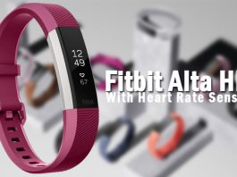 Fitbit Alta HR with Hear Rate Sensor Full Specs