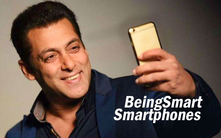 beingsmart smartphones salman khan