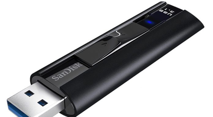 Sandisk Extreme Pro 128GB Flash Drive USB 3