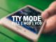 what is TTY mode on a cell phone