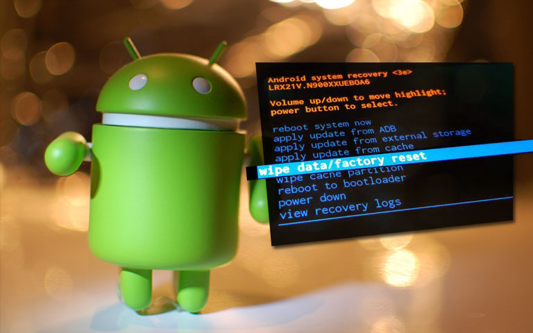Factory Data Reset on Android Phone, Hard Reset, Master Reset