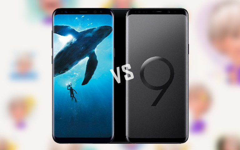 Galaxy S8 vs S9 full comparison