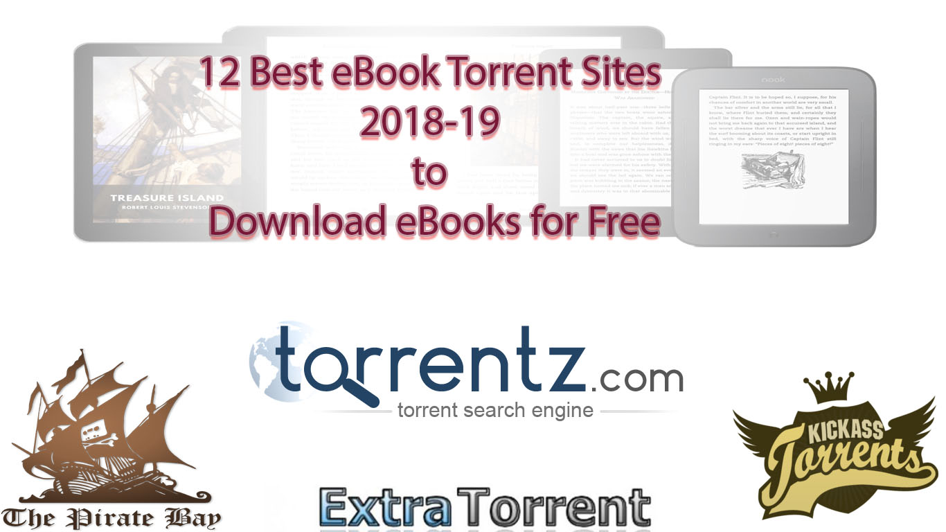 12 best ebook torrent sites 2018 19 to download ebooks for free ebook torrent sites fandeluxe Image collections