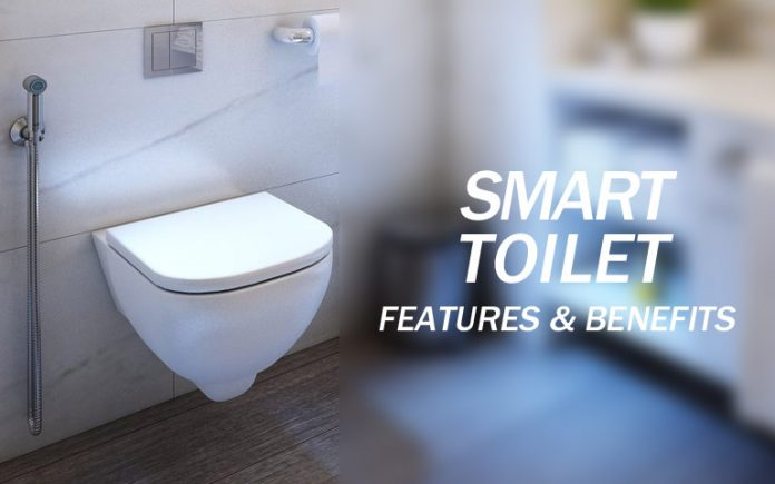 smart toilet features and benefits