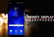 Best infinity display smartphones - latest bezel less phone in usa and india