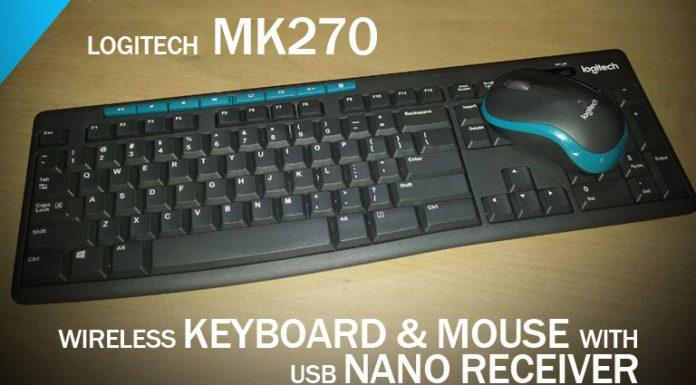 Logitech MK270 & MK275 Wireless Keyboard and Mouse