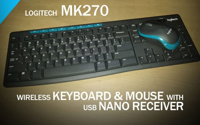 Logitech MK270 & MK275 Wireless Keyboard and Mouse