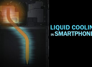 liquid cooling system - the technology in mobile smartphones