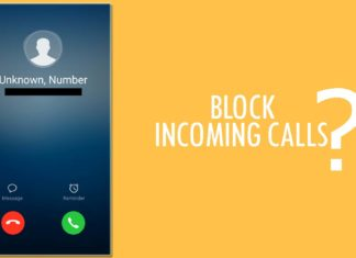 How to block a number on android