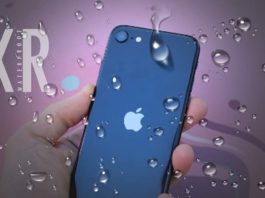 Is iPhone XR waterproof