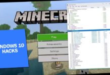 Minecraft Windows 10 Hacks