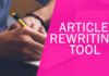 rewriting tool