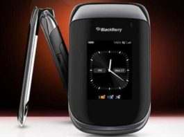 Blackberry Flip Phone