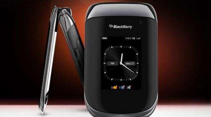 Blackberry Flip Phone