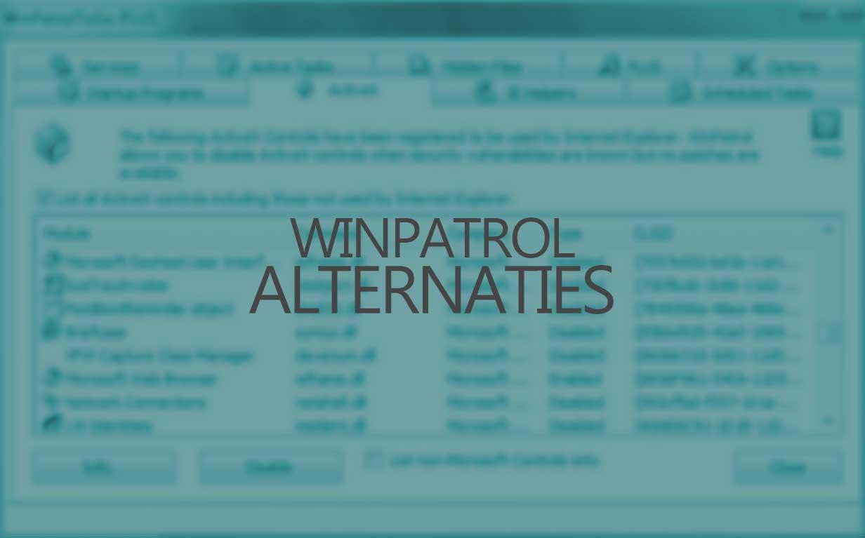 Winpatrol Alternatives for Windows 10