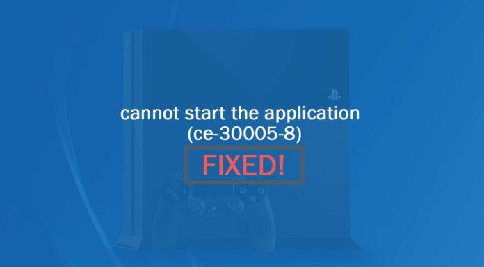 ps4 error ce-30005-8