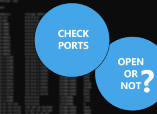 check if a port is open