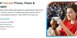 Internet Prices, Plans & Packages