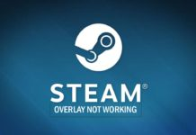 Steam overlay not working issue fixed